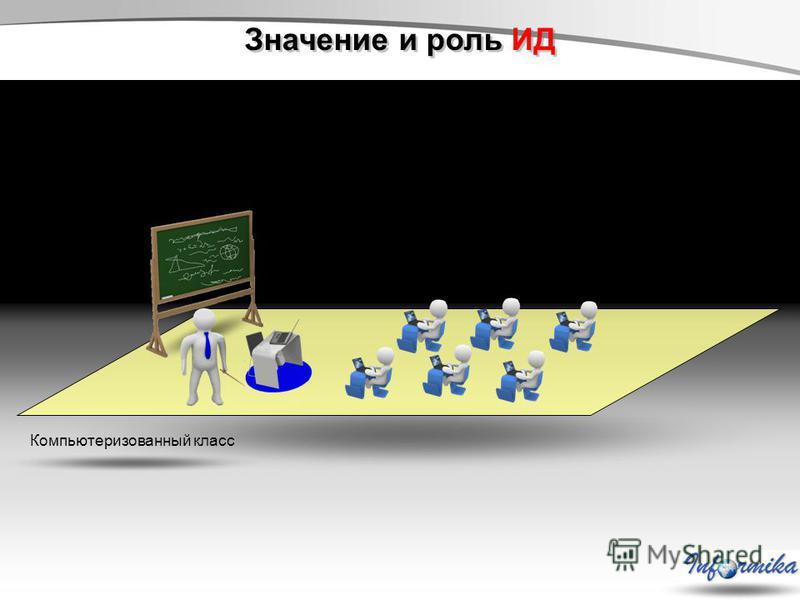 Значение и роль ИД Компьютеризованный класс