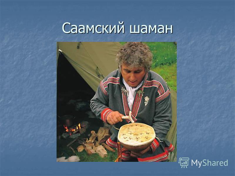 Саамский шаман