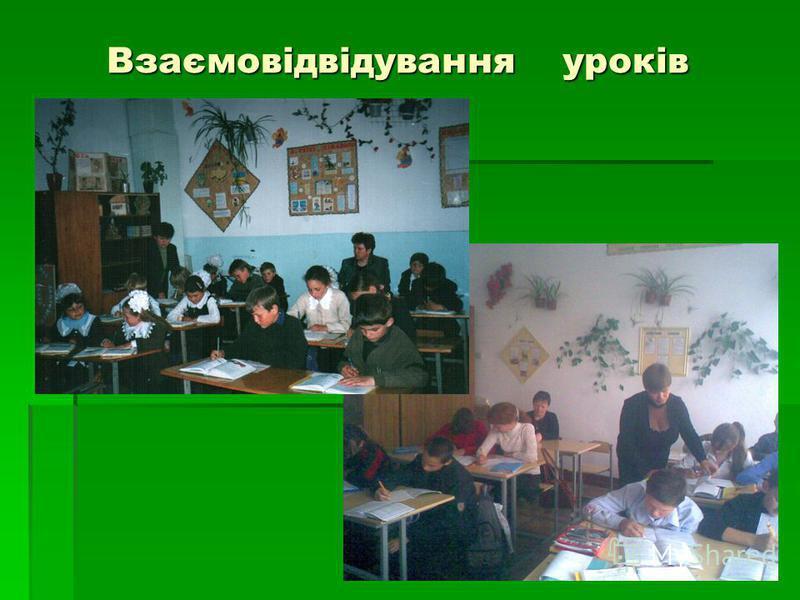 Взаємовідвідування уроків
