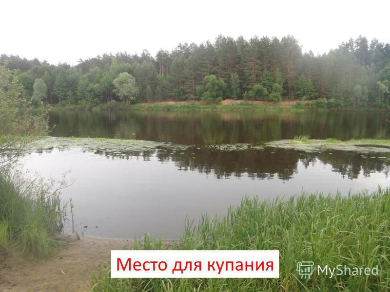 Место для купания