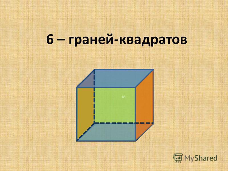 м 6 – граней-квадратов