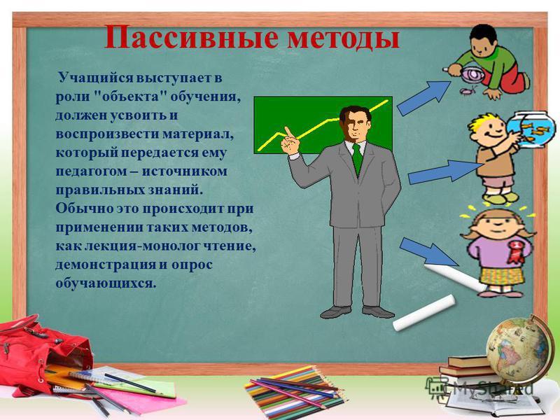 Учащийся выступает в роли