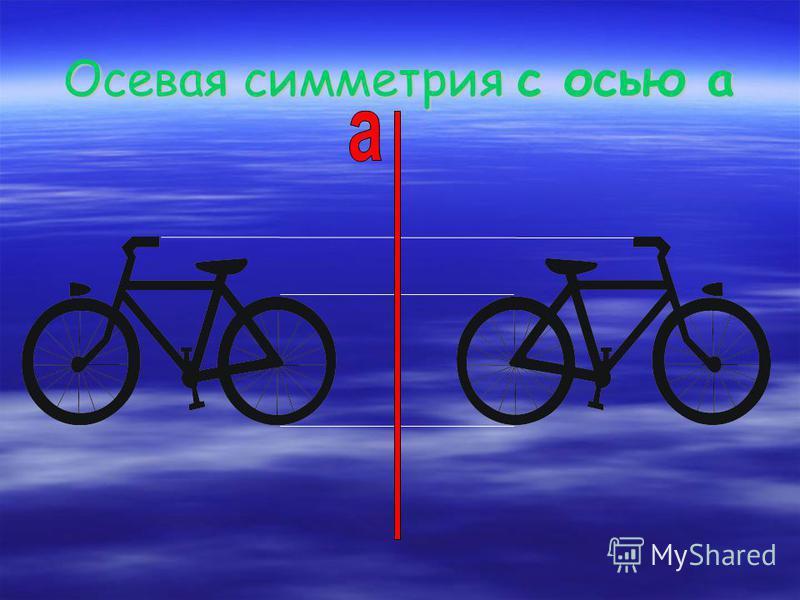 Осевая симметрия с осью а