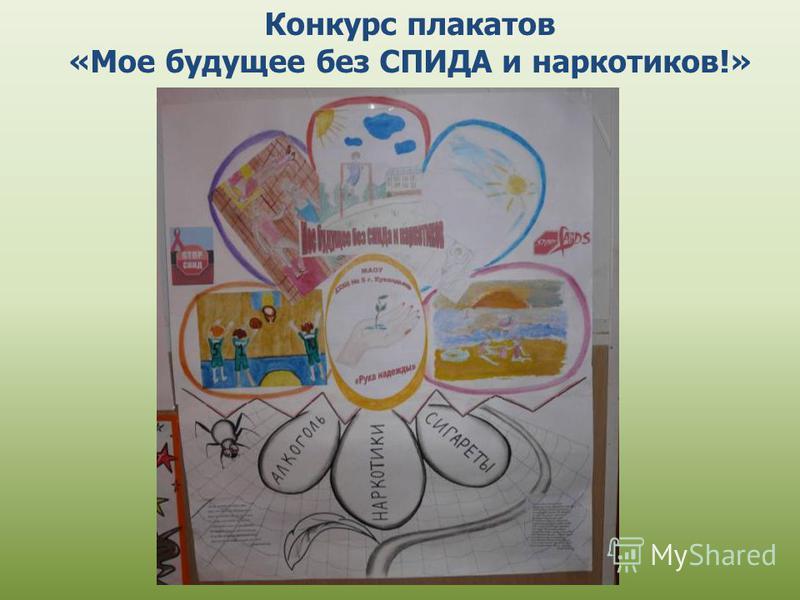 Конкурс плакатов «Мое будущее без СПИДА и наркотиков!»