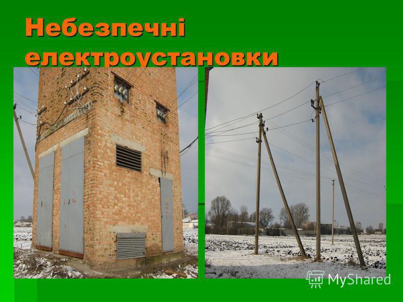 Небезпечні електроустановки