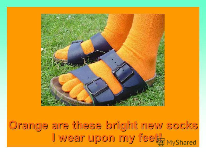And the orange I eat And the orange I eat