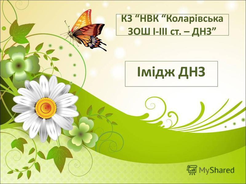 КЗ НВК Коларівська ЗОШ І-ІІІ ст. – ДНЗ Імідж ДНЗ