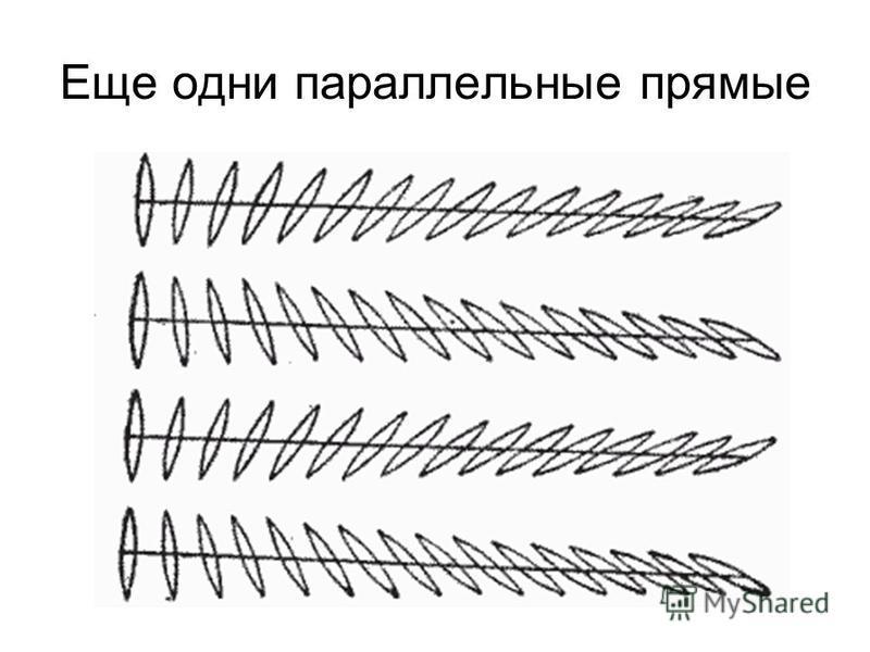 Еще одни параллельные прямые