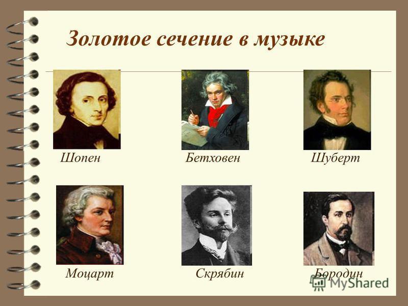 Золотое сечение в музыке Искусствовед Л.Л.Сабанеев