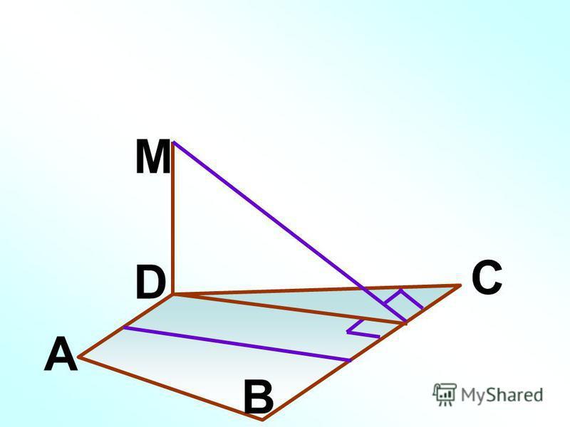 A B C D M