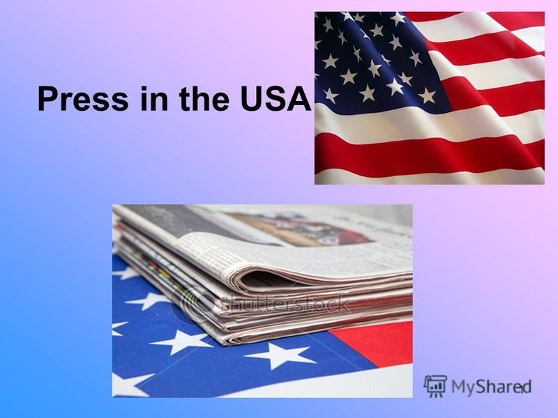 1 Press in the USA