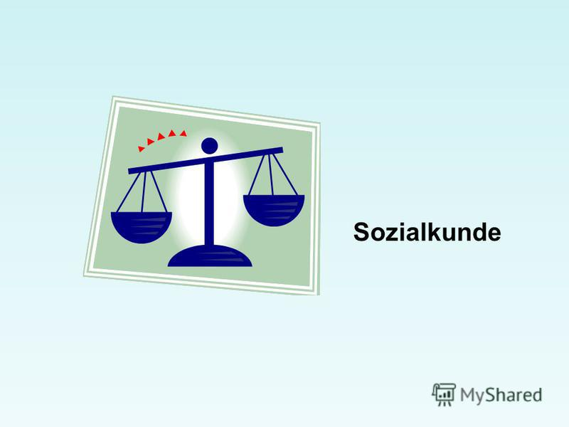 Sozialkunde