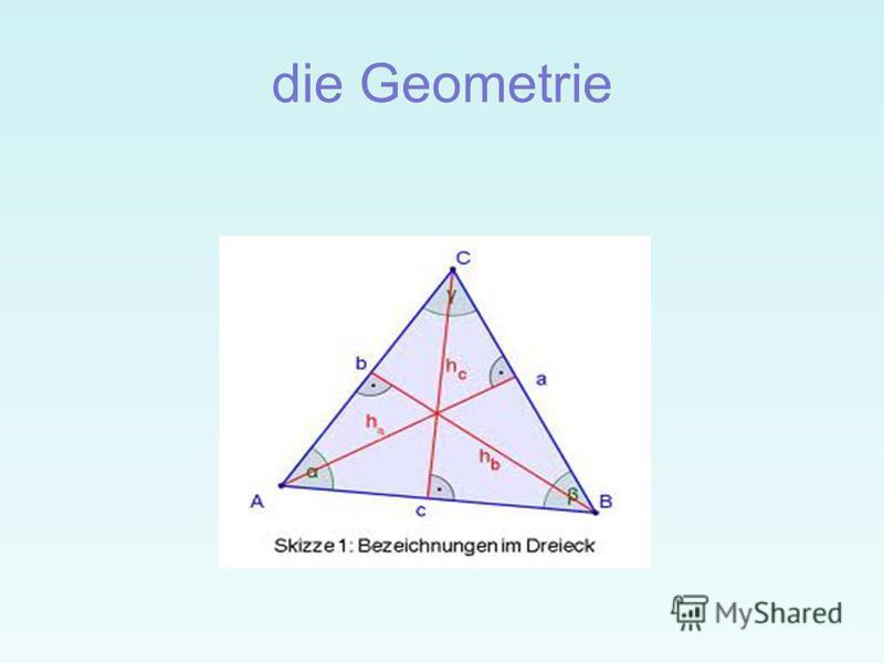 die Geometrie
