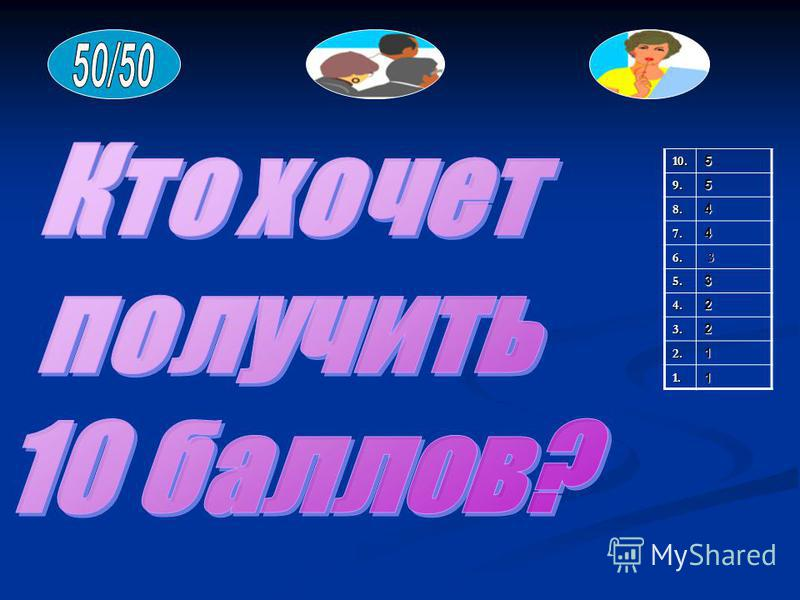 10.59.5 8.4 7.4 6. 3 5.3 4.2 3.2 2.1 1.1