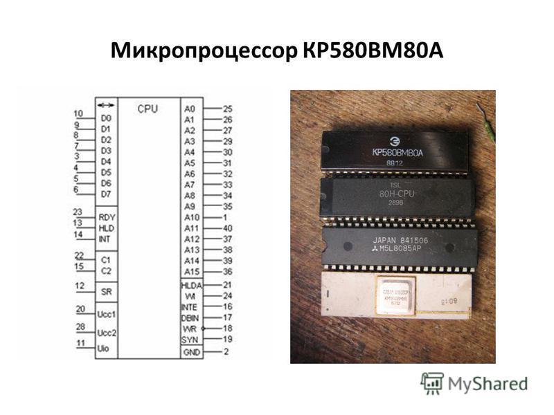 Микропроцессор КР580ВМ80А