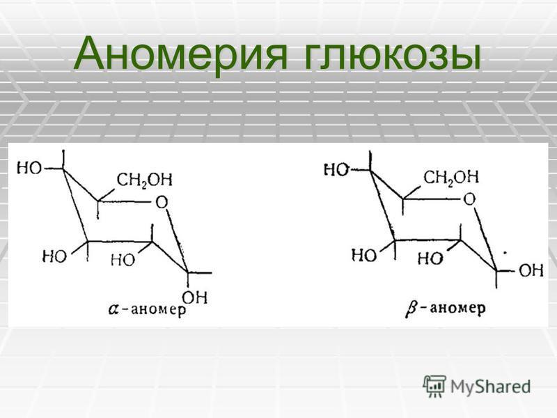 Аномерия глюкозы