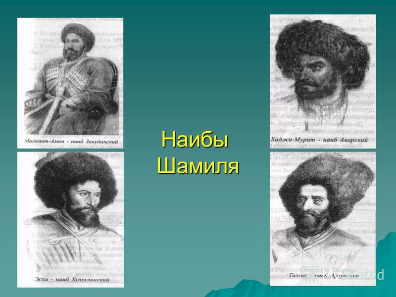 Наибы Шамиля