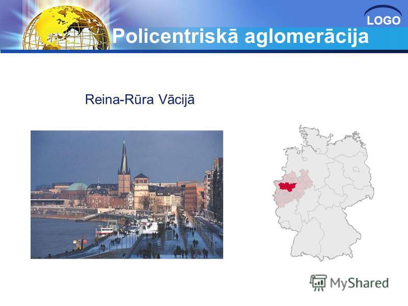 LOGO Policentriskā aglomerācija Reina-Rūra Vācijā