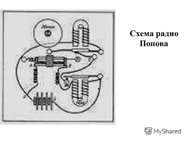 Схема радио Попова