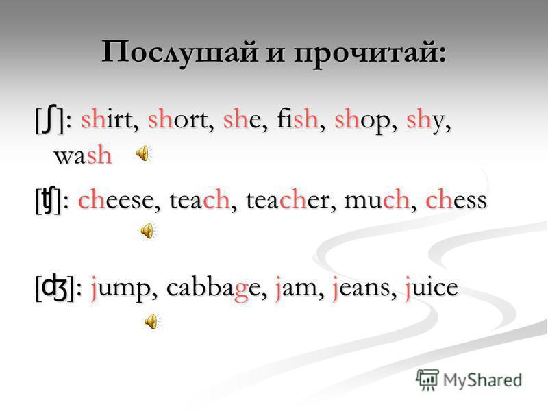 Глагол must на уроке здоровья