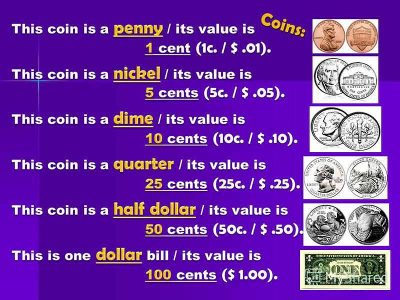 Coins: