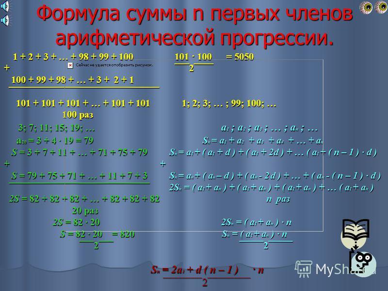 Количество дней Количество дней Стоимость проката (в рублях) Стоимость проката (в рублях) 1 Р 1 = 10 2 Р 2 = 10 + 5,5 3 Р 3 = ( 10 + 5,5 ) + 5,5 = 10 + 5,5 · 2 4 Р 4 = ( 10 + 5,5 · 2 ) + 5,5 = 10 + 5,5 3 5 Р 5 = ( 10 + 5,5 · 3 ) + 5,5 = 10 + 5,5 · 4