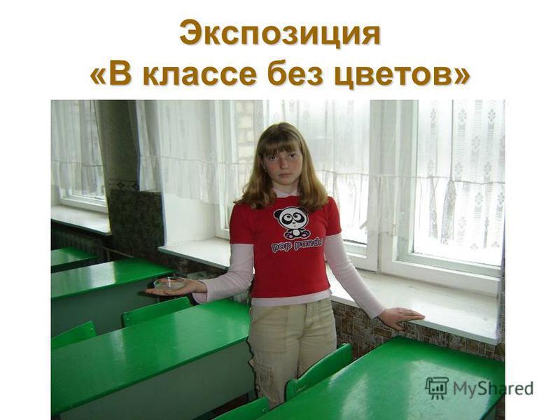 Экспозиция «В классе без цветов»