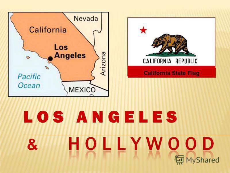 California State Flag & L O S A N G E L E S