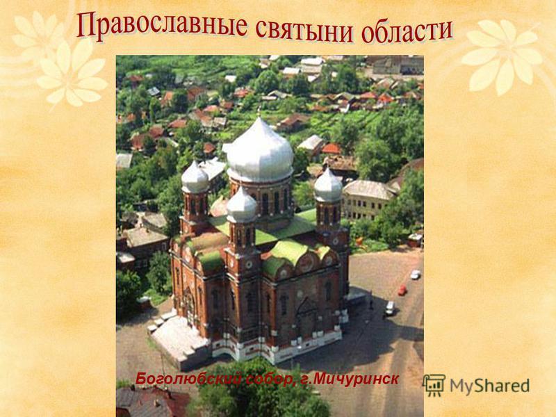 Боголюбский собор, г.Мичуринск