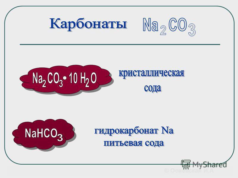 Является важнейшим сырьем в промышленности. Электролизом из NaCl получают: Na, Cl 2, NaOH, HCl, © Осиевская И.А