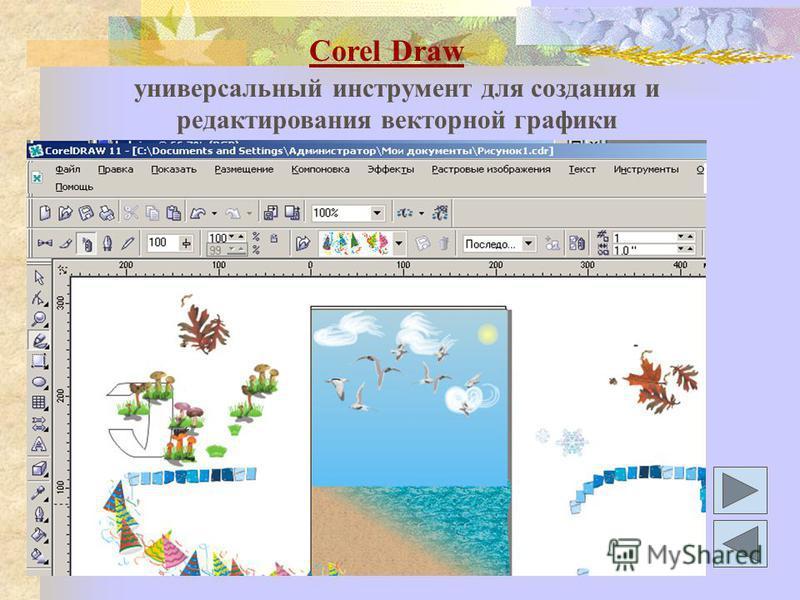 Corel Draw универсальный инструмент для создания и редактирования векторной графики