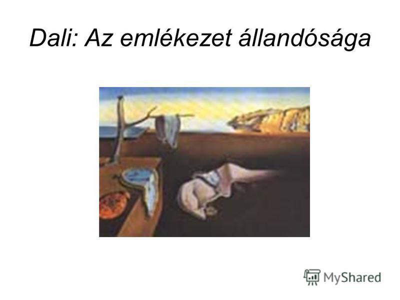 Dali: Az emlékezet állandósága