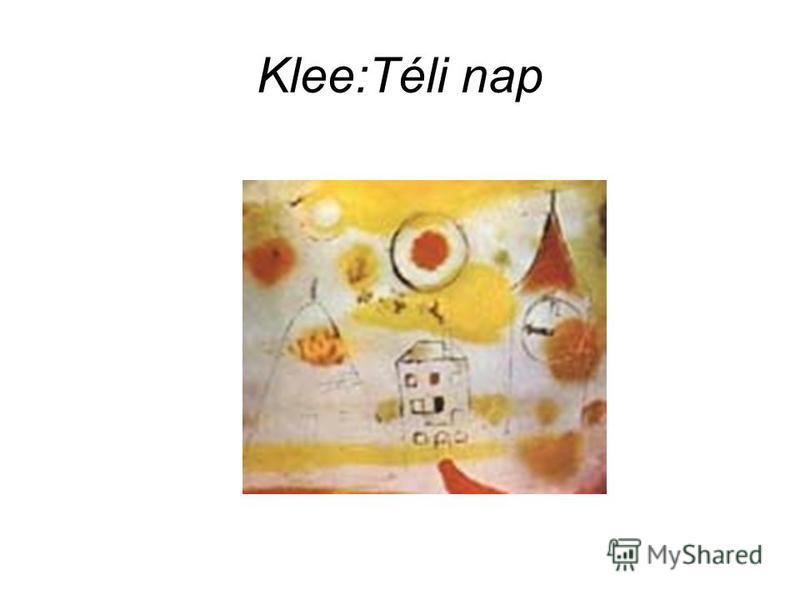 Klee:Téli nap