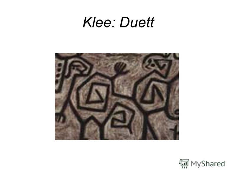 Klee: Duett