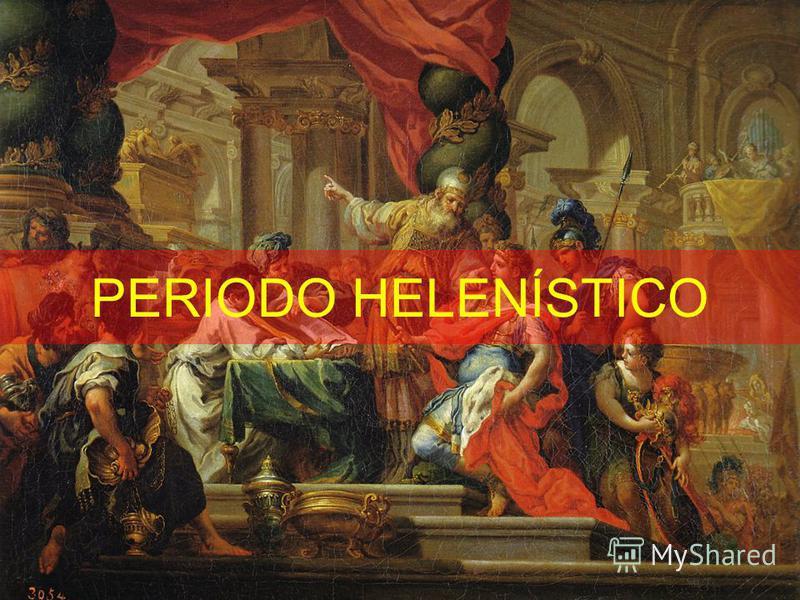 PERIODO HELENÍSTICO