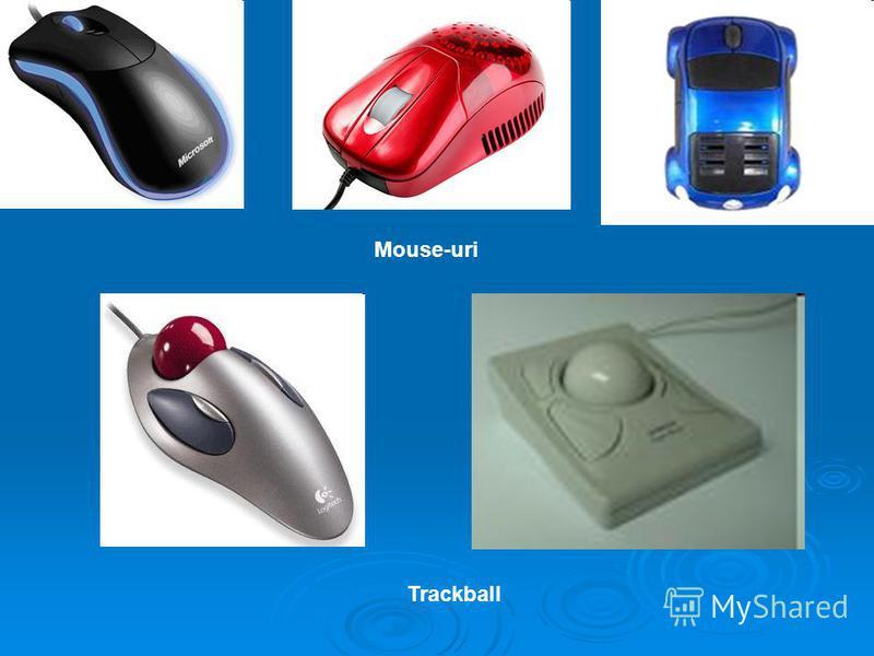 Mouse-uri Trackball