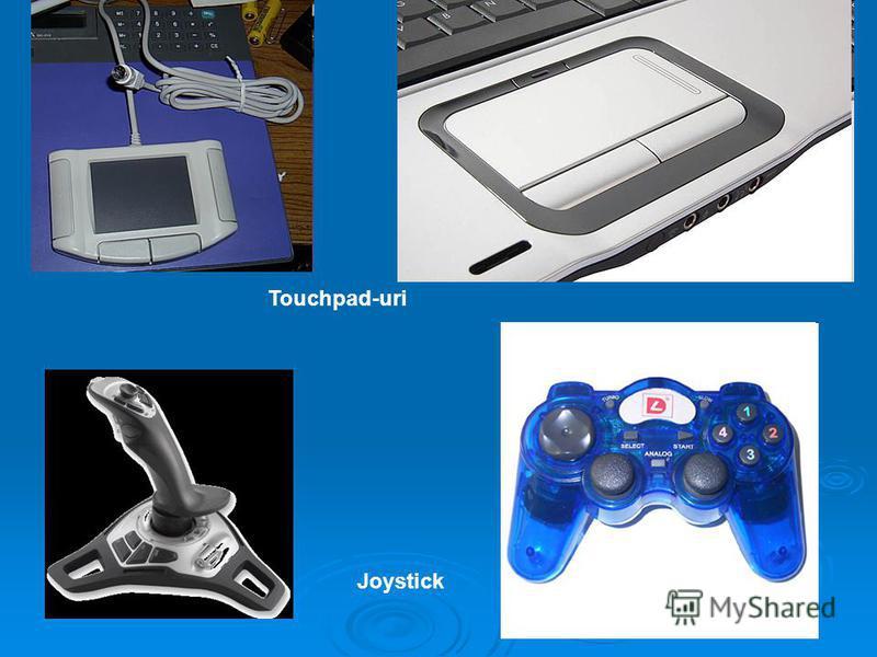 Touchpad-uri Joystick