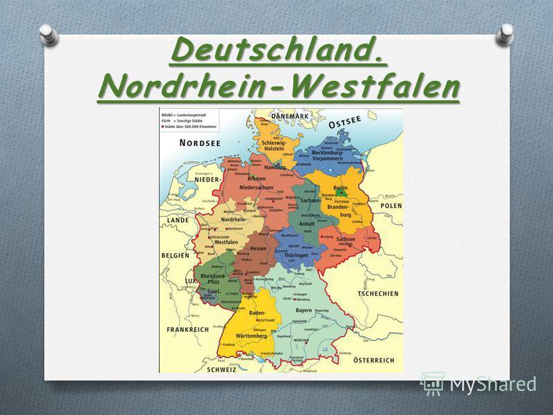 Deutschland. Nordrhein-Westfalen