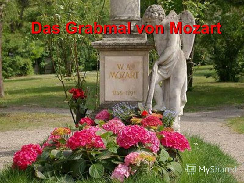 Das Grabmal von Mozart