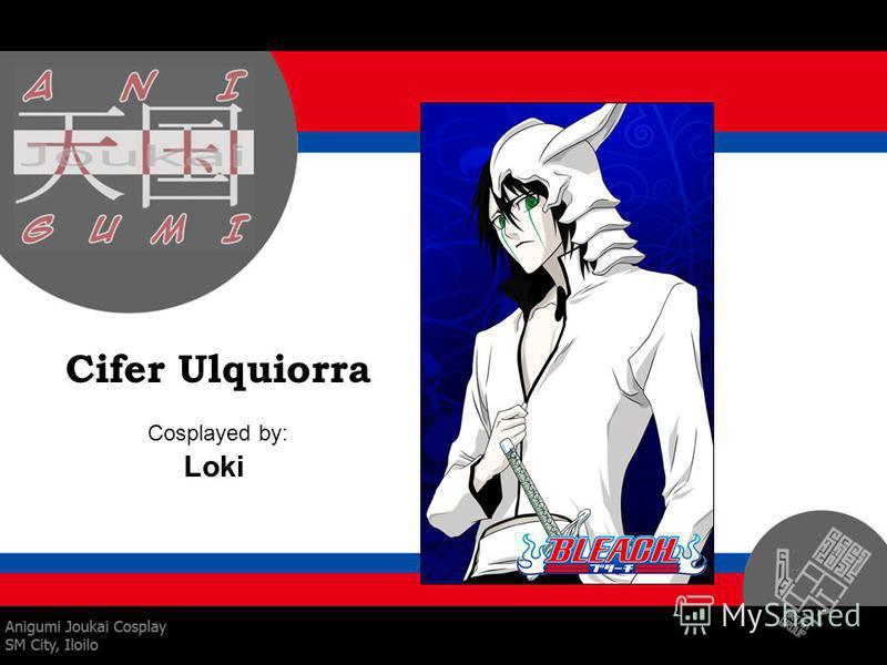 Cifer Ulquiorra Cosplayed by: Loki