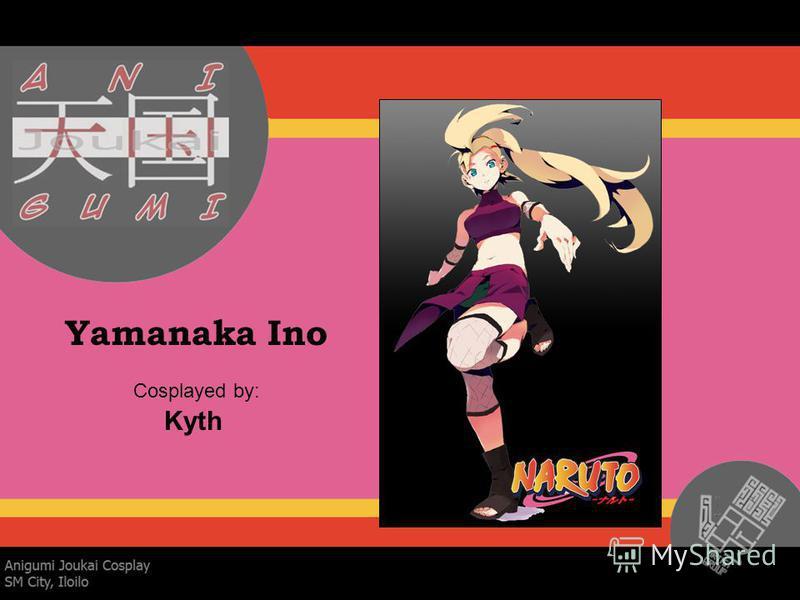 Yamanaka Ino Cosplayed by: Kyth
