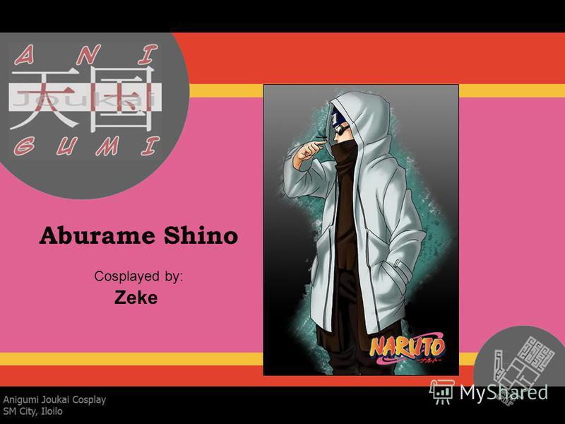 Aburame Shino Cosplayed by: Zeke