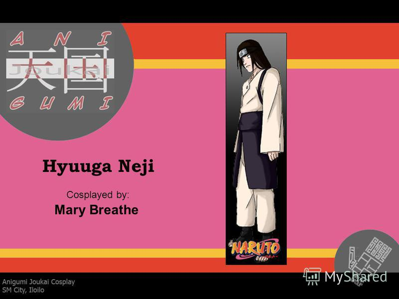 Hyuuga Neji Cosplayed by: Mary Breathe