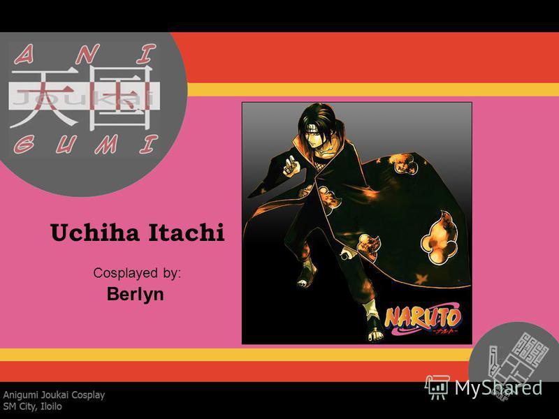 Uchiha Itachi Cosplayed by: Berlyn