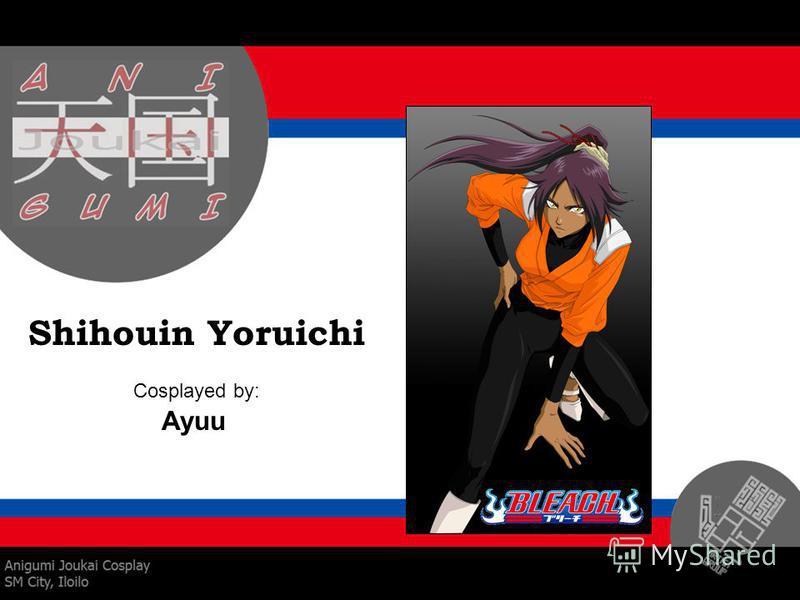 Shihouin Yoruichi Cosplayed by: Ayuu