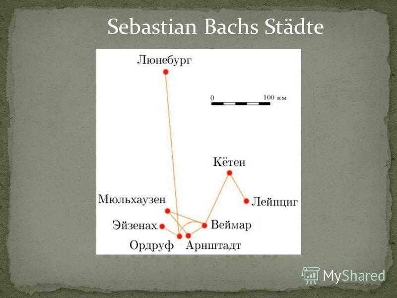 Sebastian Bachs Städte