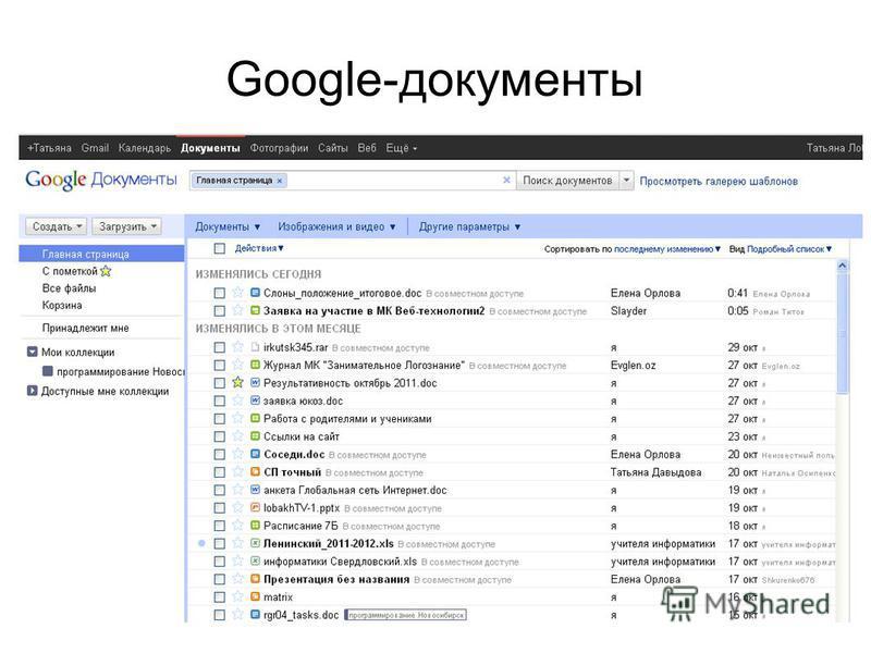 Google-документы