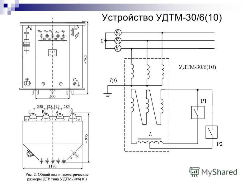 Устройство УДТМ-30/6(10)