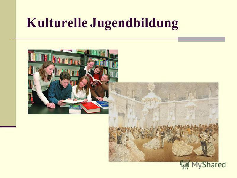 Kulturelle Jugendbildung