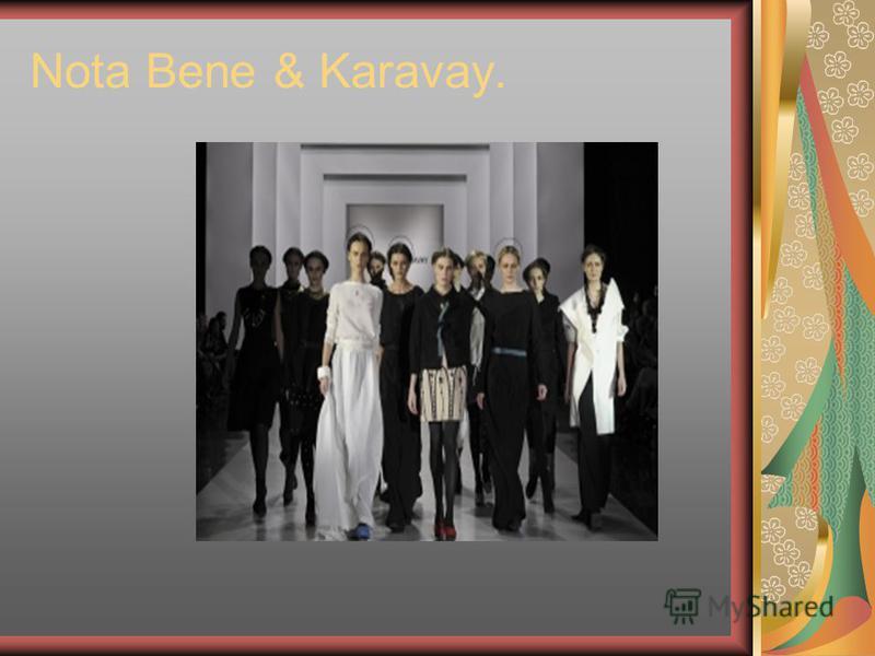 Nota Bene & Karavay.